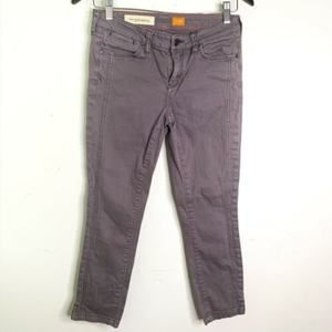 Pilcro and The Letterpress Stet Grey Skinny Jeans